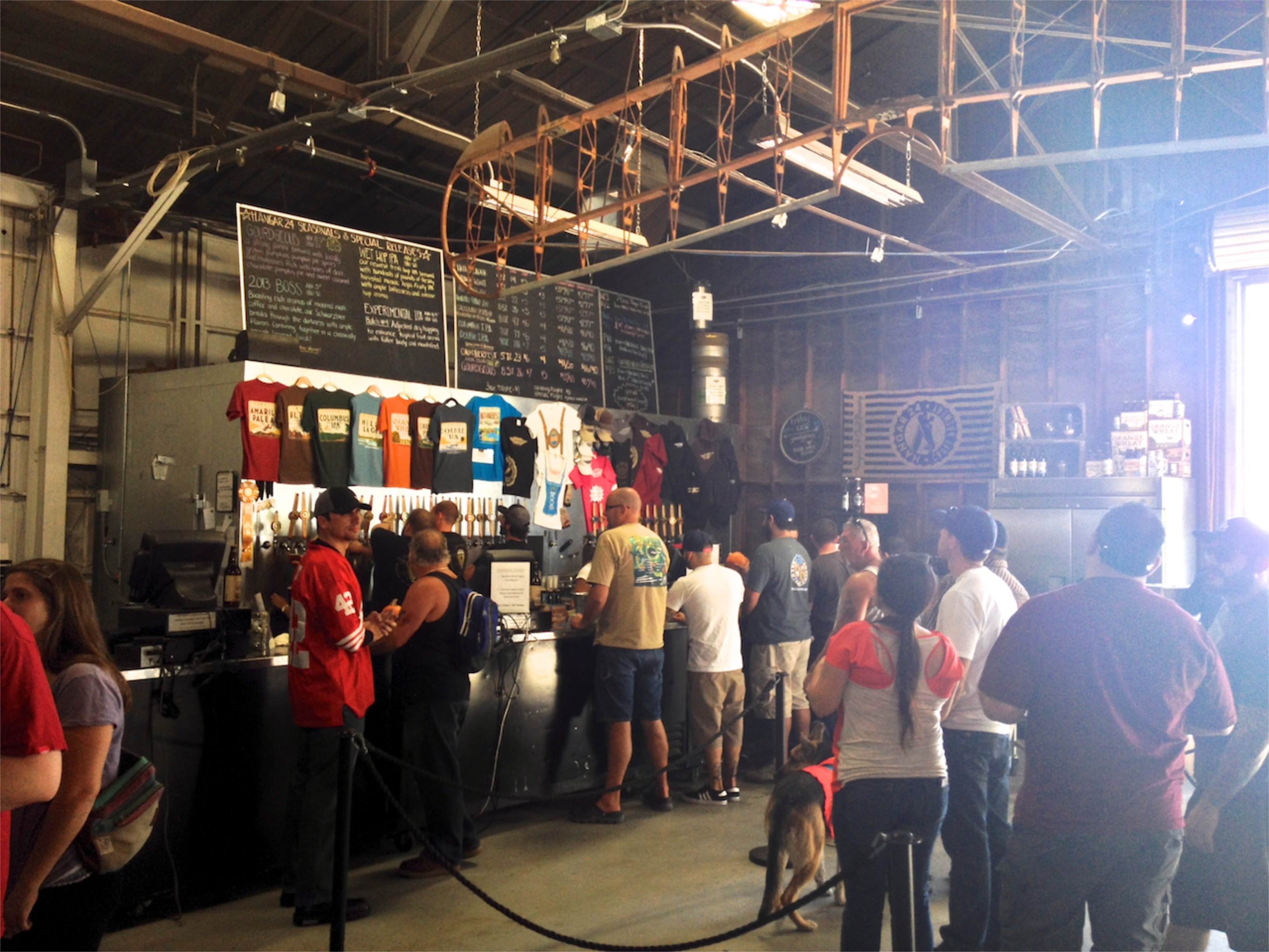 Hangar 24 Brewery in Redlands - theSCvibe